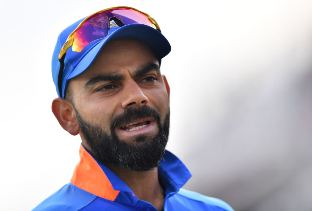 India's captain Virat Kohli (SAEED KHAN/AFP via Getty Images)