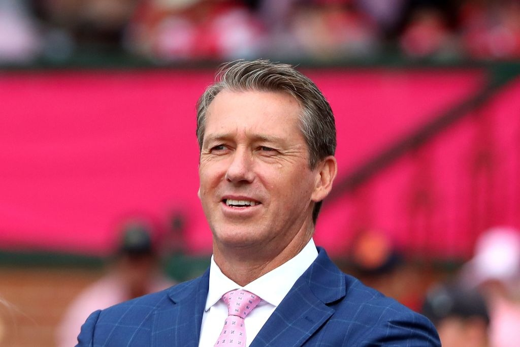 """""""I'm very much a traditionalist - five days that's test cricket to me. But if we can bring something new that keeps people coming to the game, then that's brilliant,"""" says Glenn McGrath. (Photo: JEREMY NG/AFP via Getty Images)"""