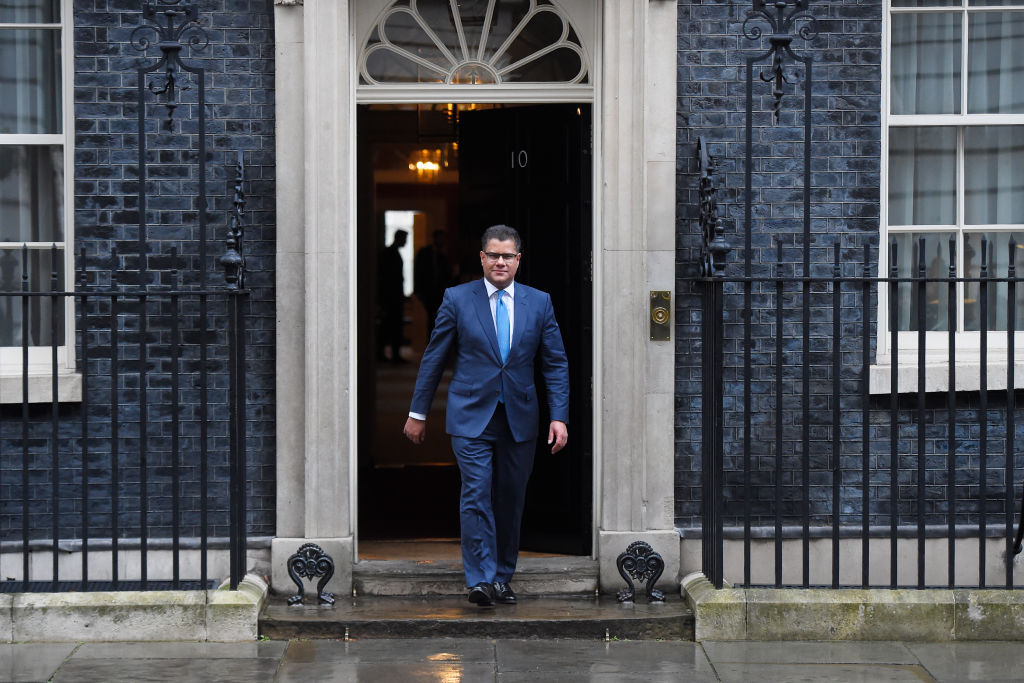 FILE PHOTO: Business and Energy Secretary Alok Sharma leaves 10 Downing Street in London, England. (Photo by Peter Summers/Getty Images)