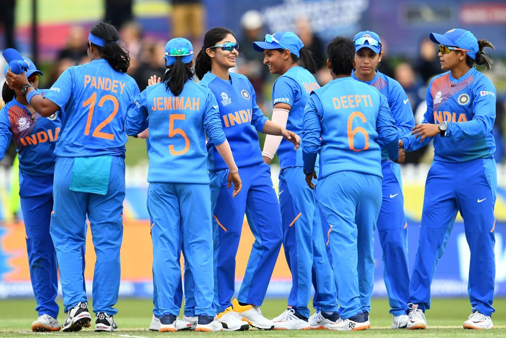 India's women's team did the country proud. (Photo by WILLIAM WEST/AFP via Getty Images)