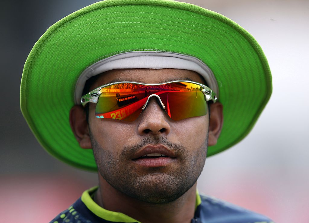 Pakistan's Umar Akmal (MICHAEL BRADLEY/AFP via Getty Images)