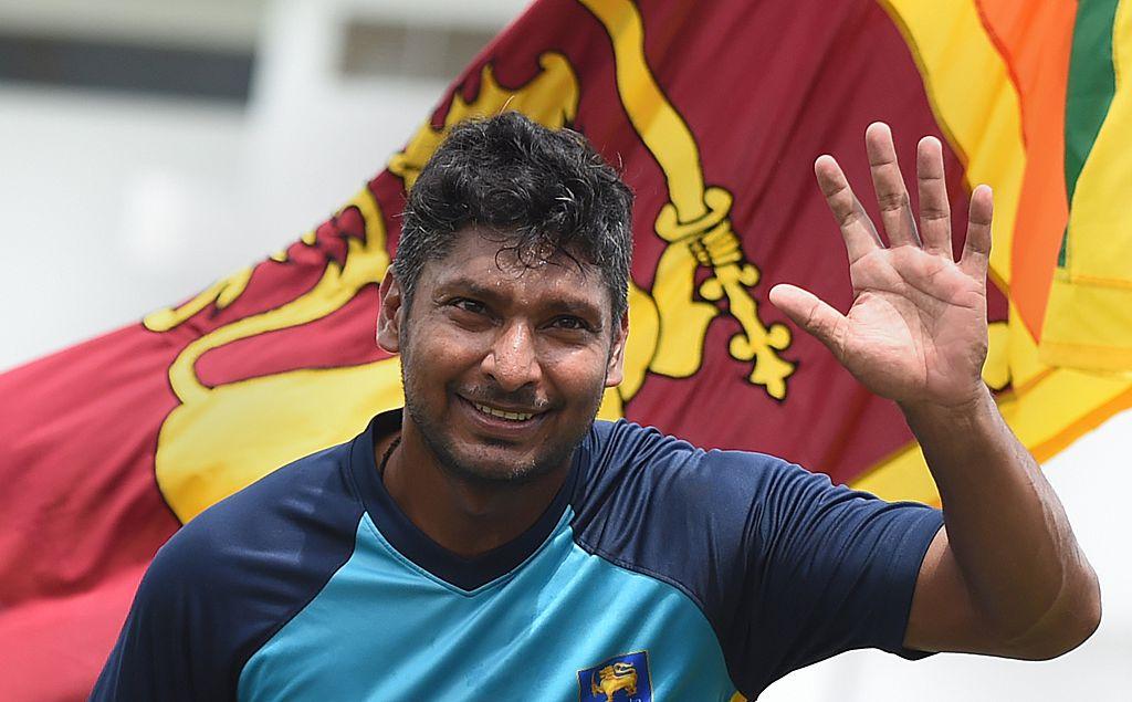 Sri Lankan cricketer Kumar Sangakkara (Ishara S.KODIKARA/AFP via Getty Images)