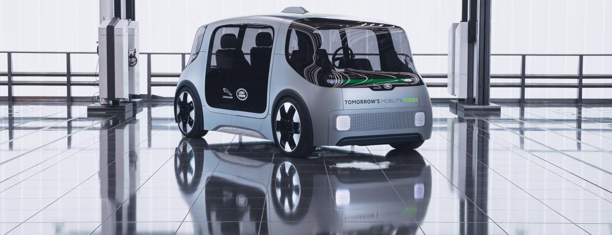JLR's futuristic driverless car concept. (Source: www.jaguarlandrover.com)