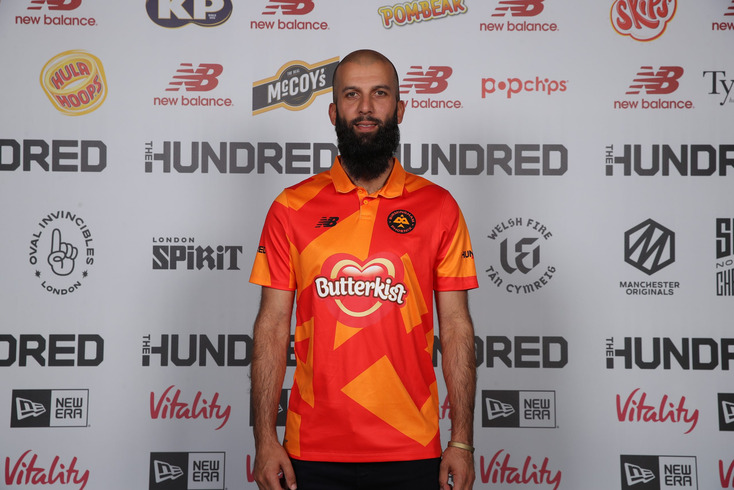 Moeen Ali of Birmingham Phoenix (Photo by Christopher Lee/Getty Images for ECB)