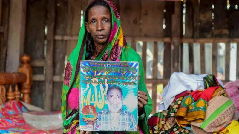 Mosammat Rashida. AFP