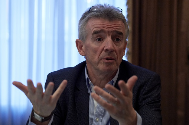Michael O'Leary (Photo: NIKLAS HALLE'N/AFP via Getty Images).