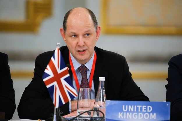 Barton will succeed Dominic Asquith, who recently concluded a four-year term in the south Asian country (Photo: THOMAS PETER/AFP via Getty Images).