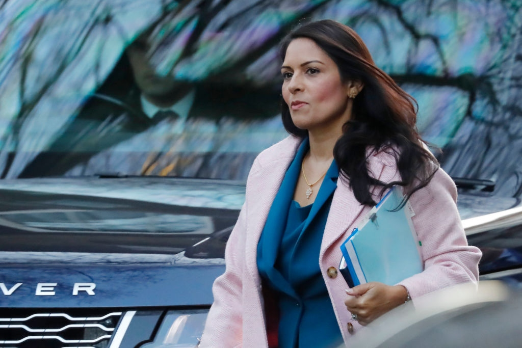 """Home Secretary Priti Patel said in Parliament that she was """"hugely apologetic"""" about what Labour MP Yvette Cooper had to put up with. (Photo: Getty Images)"""