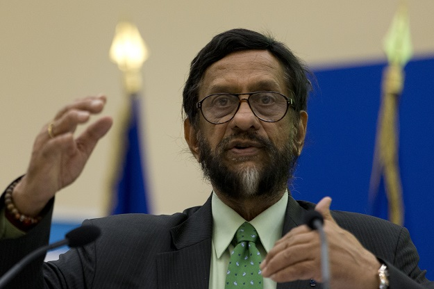 Pachauri who helmed the the Inter-governmental Panel on Climate Change (IPCC) for more than a decade died in a New Delhi hospital late Thursday (13) after undergoing open heart surgery this week, his family said (Photo: KENZO TRIBOUILLARD/AFP via Getty Images).