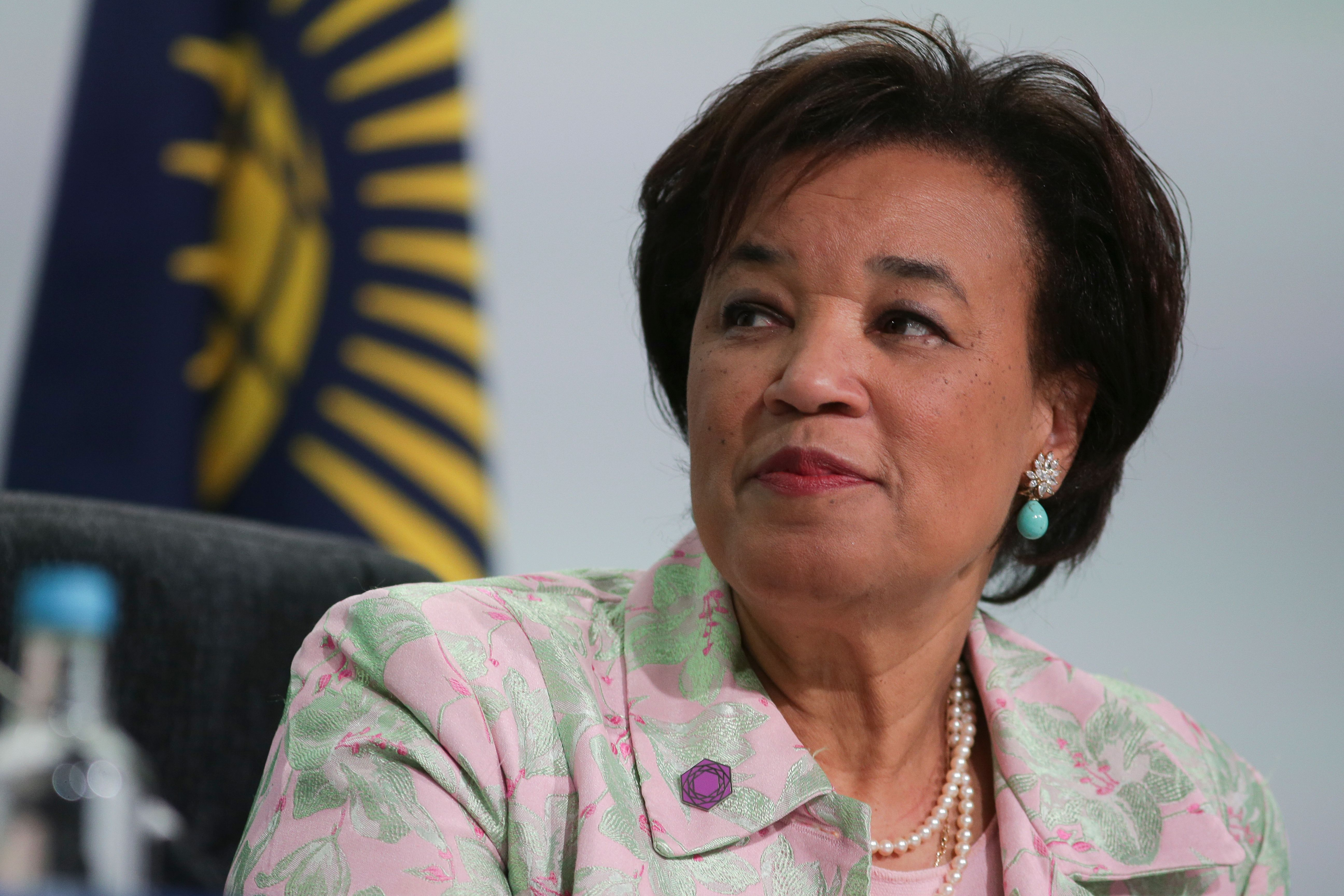 "Commonwealth secretary-general Patricia Scotland  had previously been criticised for awarding peer Lord Patel a ""lucrative contract""  to carry out work for her (Photo credit: DANIEL LEAL-OLIVAS/AFP via Getty Images)"