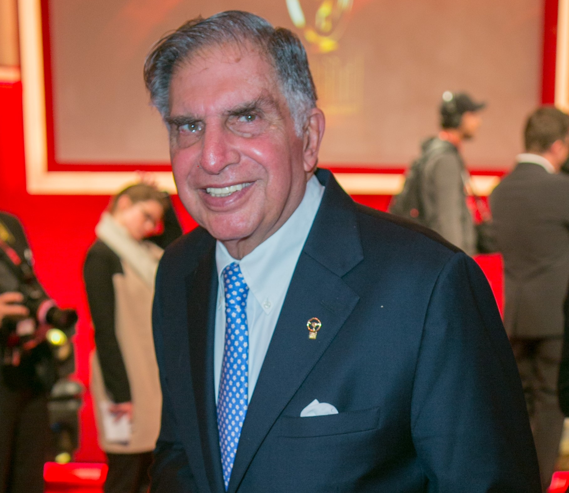 "Ratan Tata called the killing ""no different than acts of meditated murder against other humans... Justice needs to prevail."" (Photo: Getty Images)"