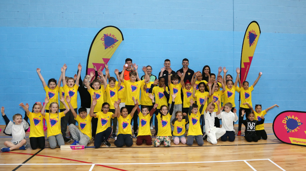 The ECB Dynamos Cricket event at Harrow Leisure Center in Harrow, England. (Photo by Paul Harding/Getty Images for ECB)