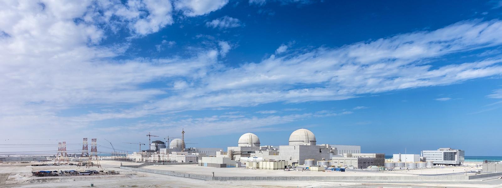 The Barakah power plant on the Emirates coast (Photo: Emirates Nuclear Energy Corporation)