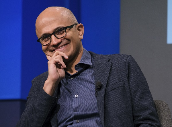 File Photo: Microsoft CEO Satya Nadella