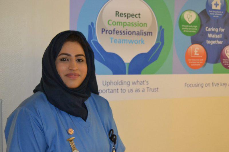 Nurse Areema Nasreen died fighting coronavirus on the front-line (Courtesy: NHS)
