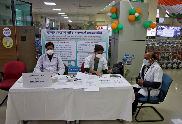 The patient had initially tested negative for the virus but a second test came out positive, a hospital official in Rajasthan's capital city of Jaipur told, declining to be named since he is not authorised to speak to the media (REUTERS/Jayanta Dey/File Photo).