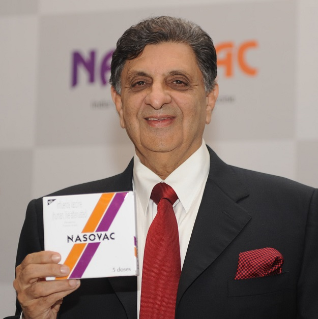 Poonawalla's company expects that it will play a critical role scaling up production once a vaccine has been developed and declared fit for human use, as there are no licensed vaccines or therapeutics for this novel coronavirus, now referred to as Covid-19 (Photo: RAVEENDRAN/AFP via Getty Images).