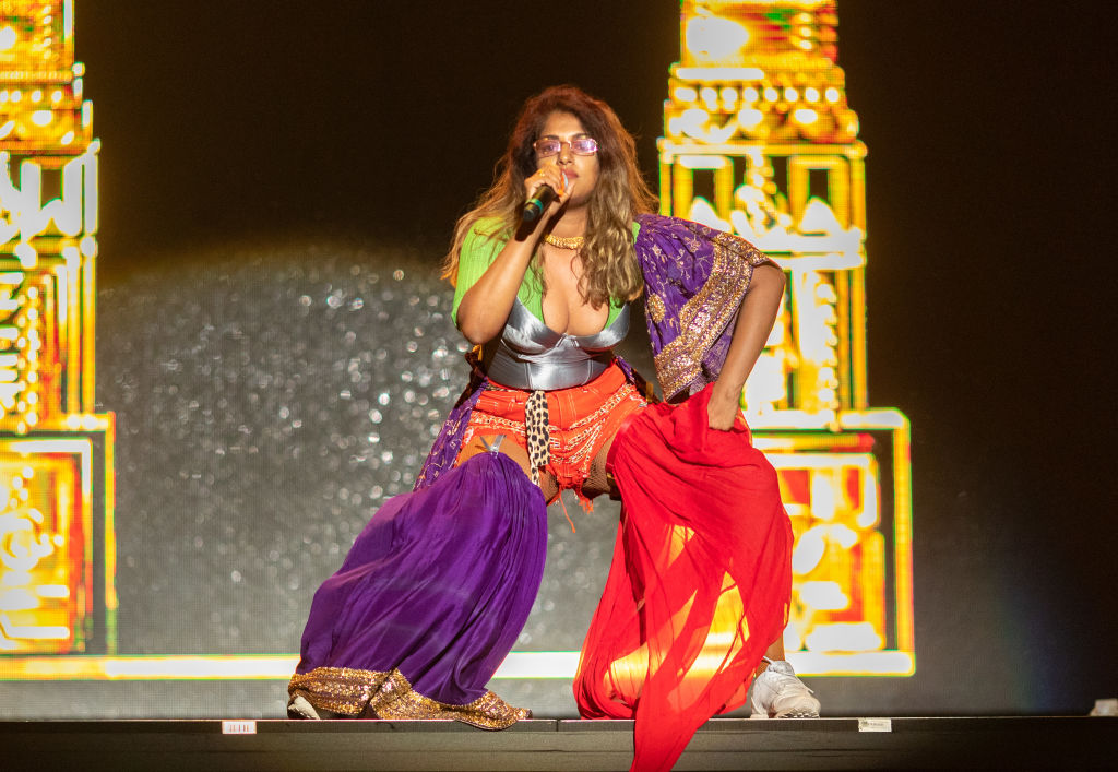 File photo of M.I.A performing at a music festival in  California. (Photo: Christopher Polk/Getty Images)