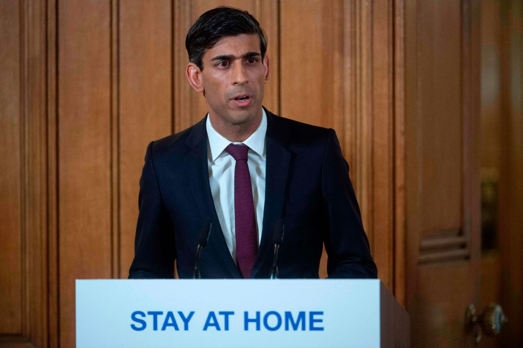Britain's Chancellor of the Exchequer Rishi Sunak (Photo: JULIAN SIMMONDS/AFP via Getty Images)