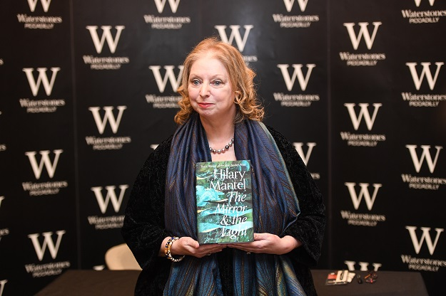 An announcement said copies of Hilary Mantel's The Mirror & the Light, the much-anticipated concluding novel in her trilogy after Wolf Hall and Bring up the Bodies, was being sold for £9.99 (retail price £25). In the books section, I discovered all copies had gone (Photo: Peter Summers/Getty Images).