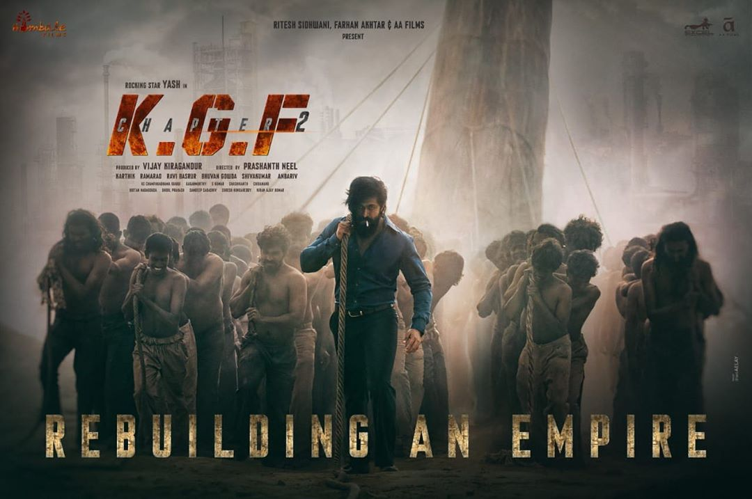 KGF: Chapter 2 Poster