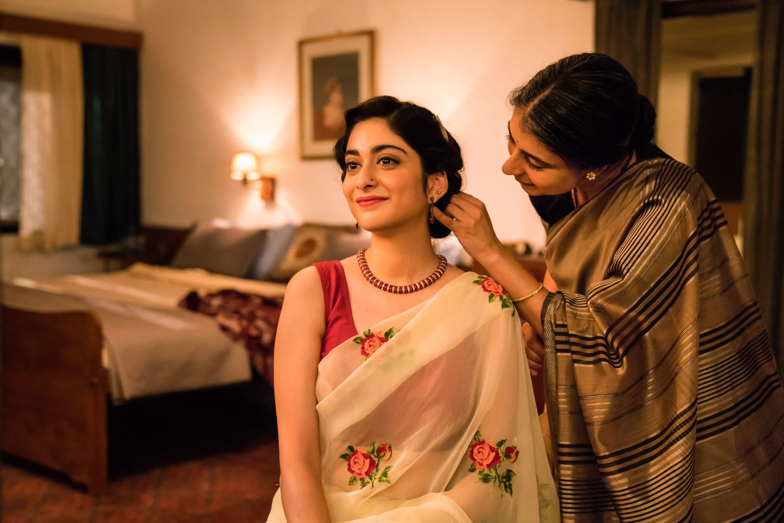 MASTERPIECE: Tanya Maniktala (left) and Mahira Kakkar in TV series A Suitable Boy (Photo: Supriya Kantak/BBC/Lookout Point)