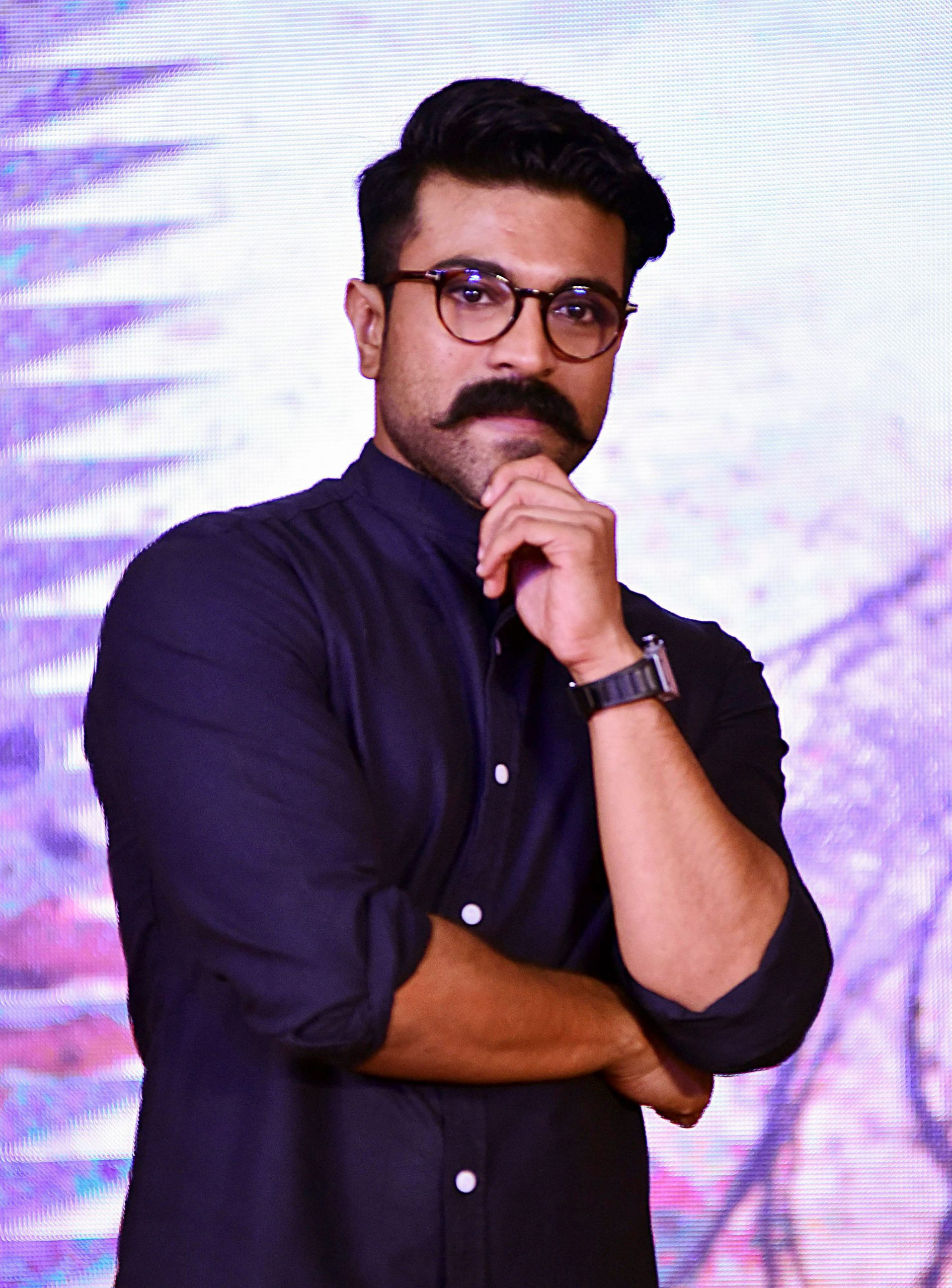 SHINING: Ram Charan (Sujit Jaiswal/AFP/Gettty Images)