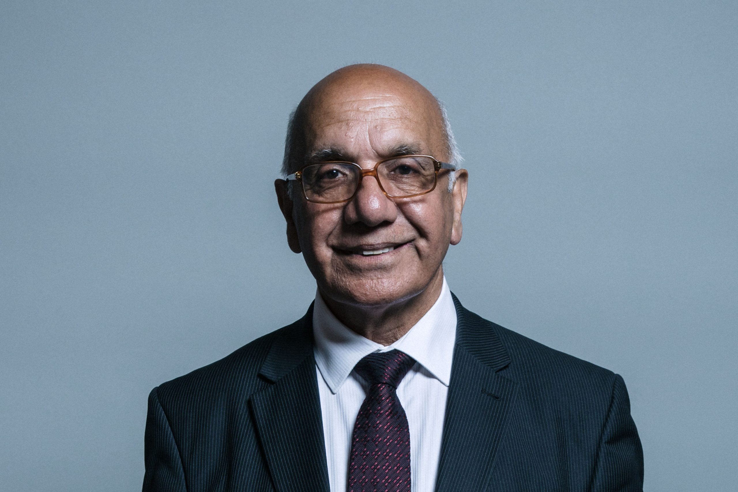 """""""The amazing men and women of the NHS working in almost impossible situations, with too little kit and too little support deserve our help. I am asking everyone of you to do what you can to help them,"""" said Virendra Sharma. (Photo: Chris McAndrew)"""