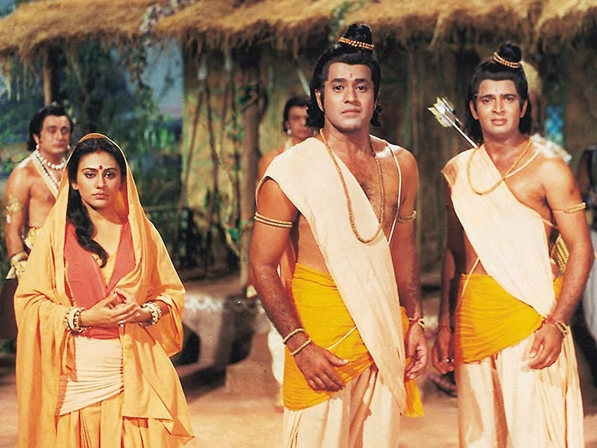 A still from television series Ramayan