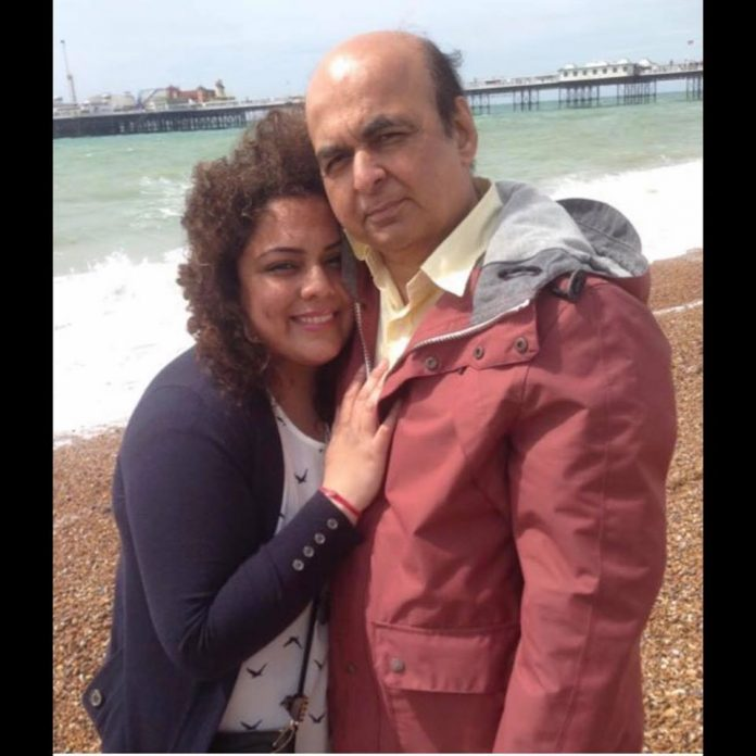 Sudhir Sharma, 61,of Hounslow  with daughter Pooja, 33. (Courtesy: Facebook)
