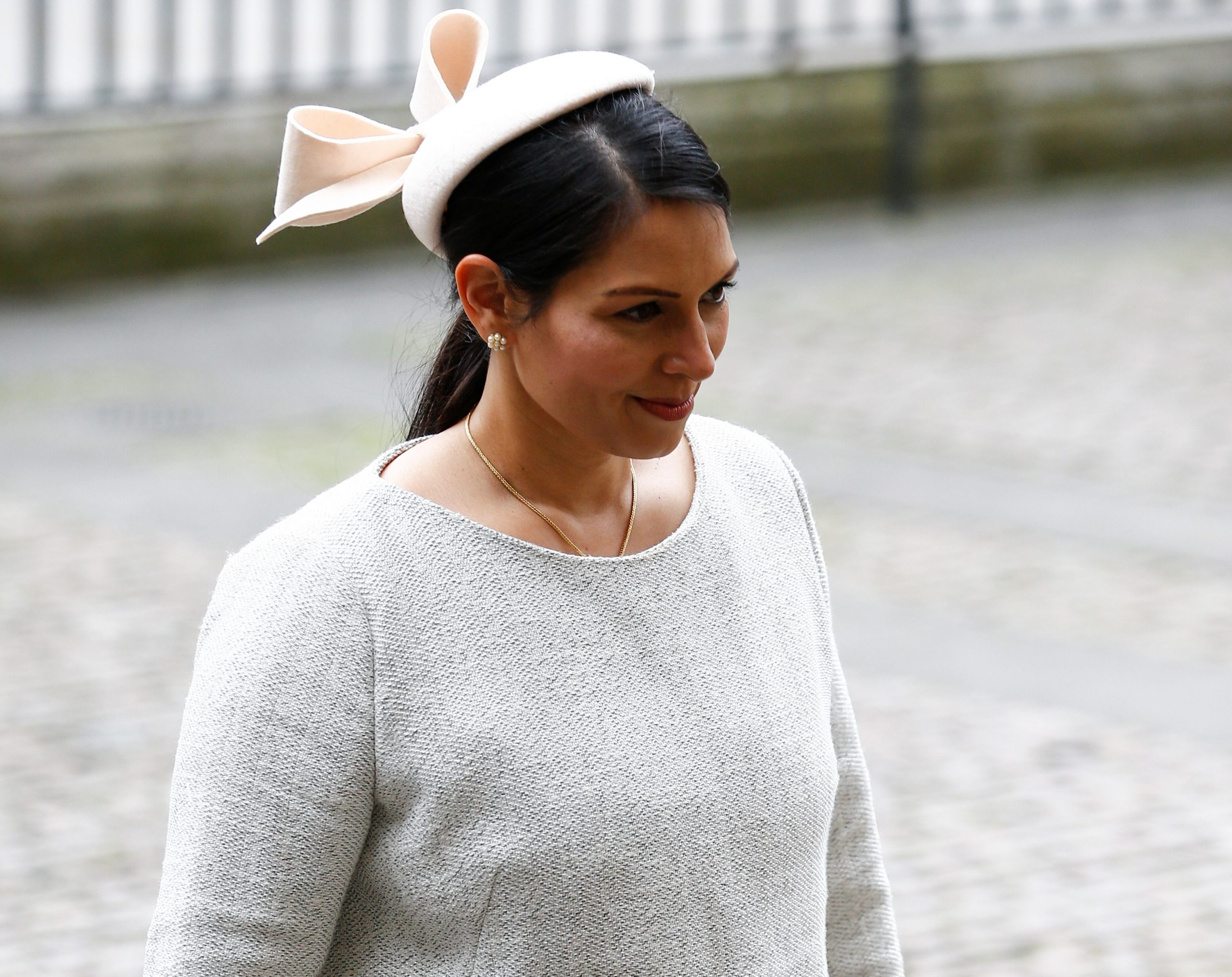 Home Secretary Priti Patel arrives for the annual Commonwealth Service at Westminster Abbey in London on March 9, 2020. (Photo: Reuters/Henry Nicholls)