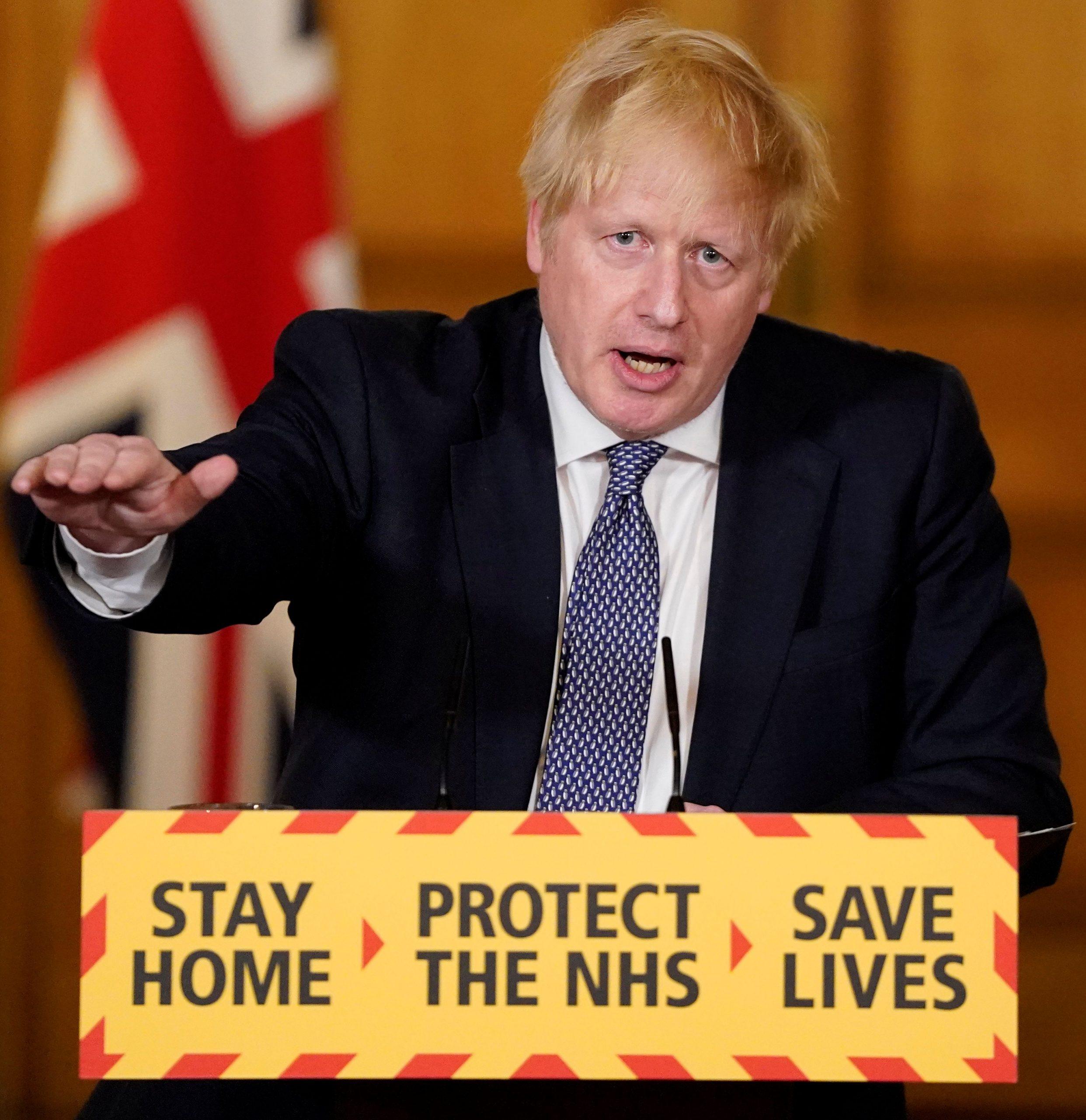 Prime Minister Boris Johnson (Andrew Parsons/No 10 Downing Street/Handout via REUTERS)