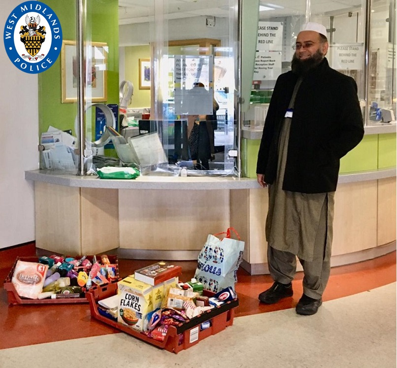 The Imam at Birmingham Central Mosque, Mohammad Asad