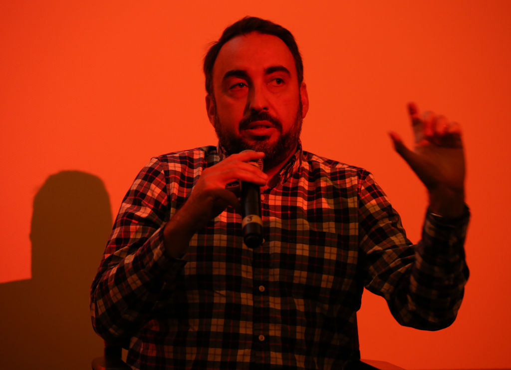 FILE PHOTO: Alex Stamos speaks at WIRED25 Festival. (Photo by Phillip Faraone/Getty Images for WIRED25  )