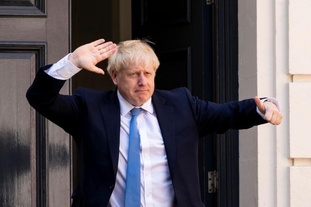 File photo: Prime Minister Boris Johnson (NIKLAS HALLE'N/AFP via Getty Images)