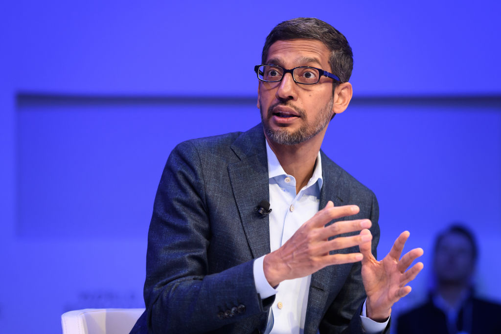 Alphabet CEO Sundar Pichai (Photo: FABRICE COFFRINI/AFP via Getty Images)