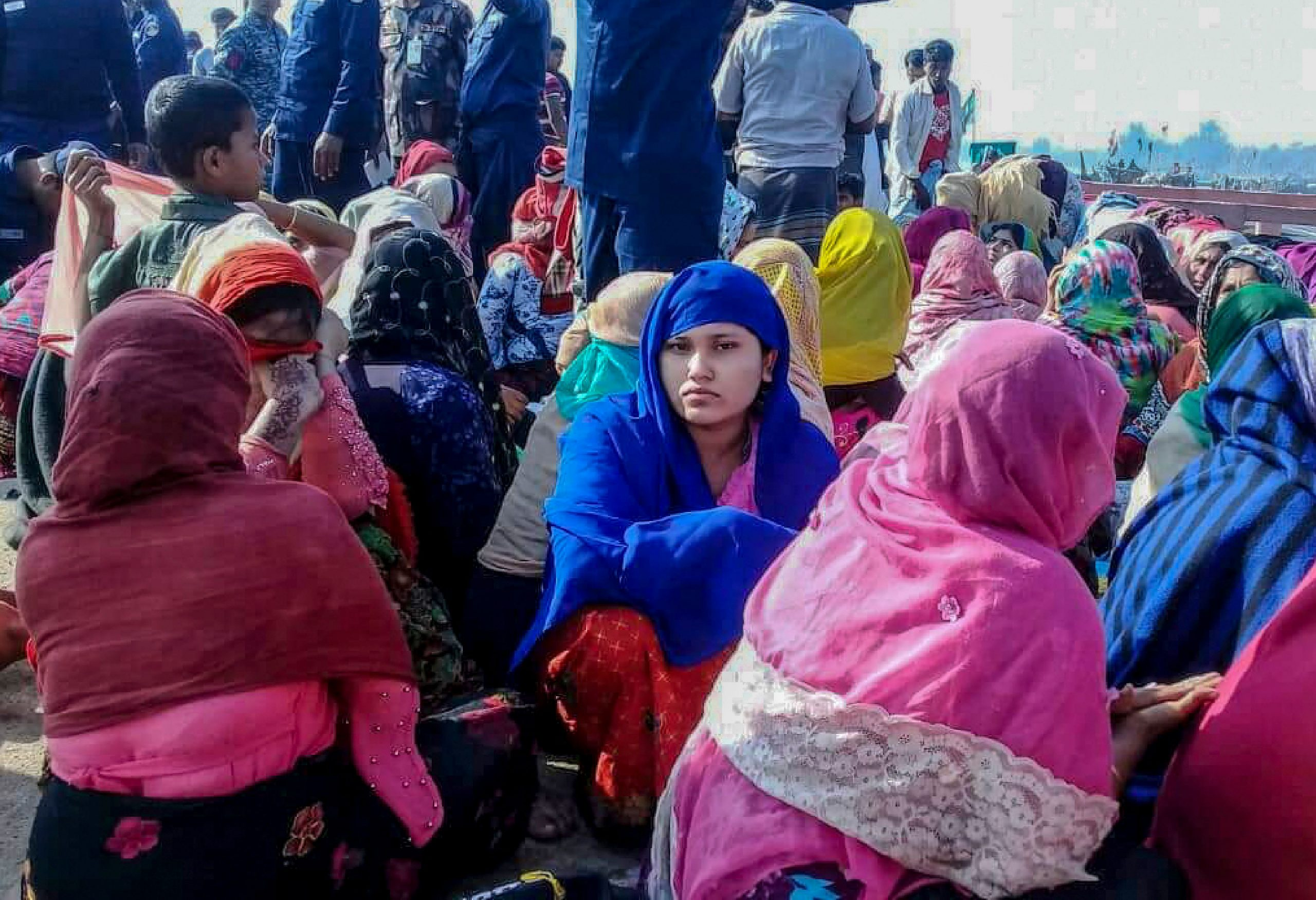 Nearly one million Rohingya Muslims fled a crackdown by the Myanmarese military in 2017 (Photo by STR / AFP)