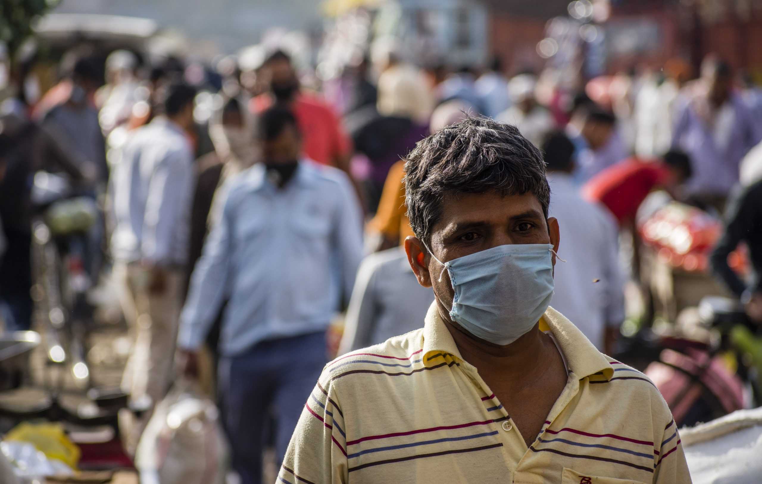 Major Indian cities make mask-wearing compulsory amid virus fears ...