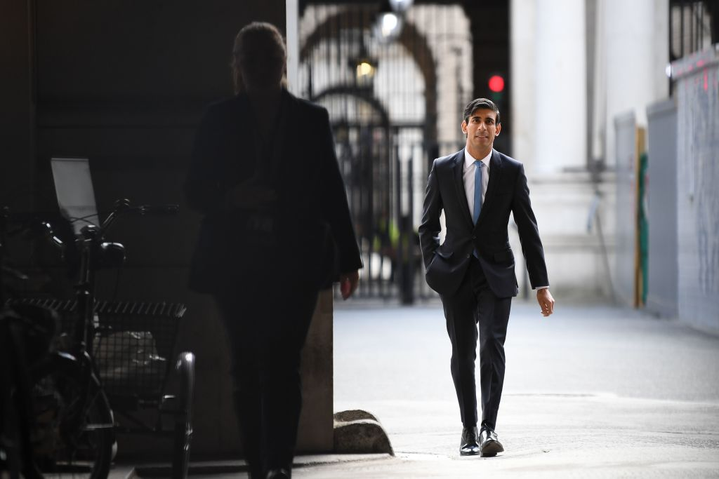 File photo: Chancellor Rishi Sunak at Downing Street (DANIEL LEAL-OLIVAS/AFP via Getty Images)