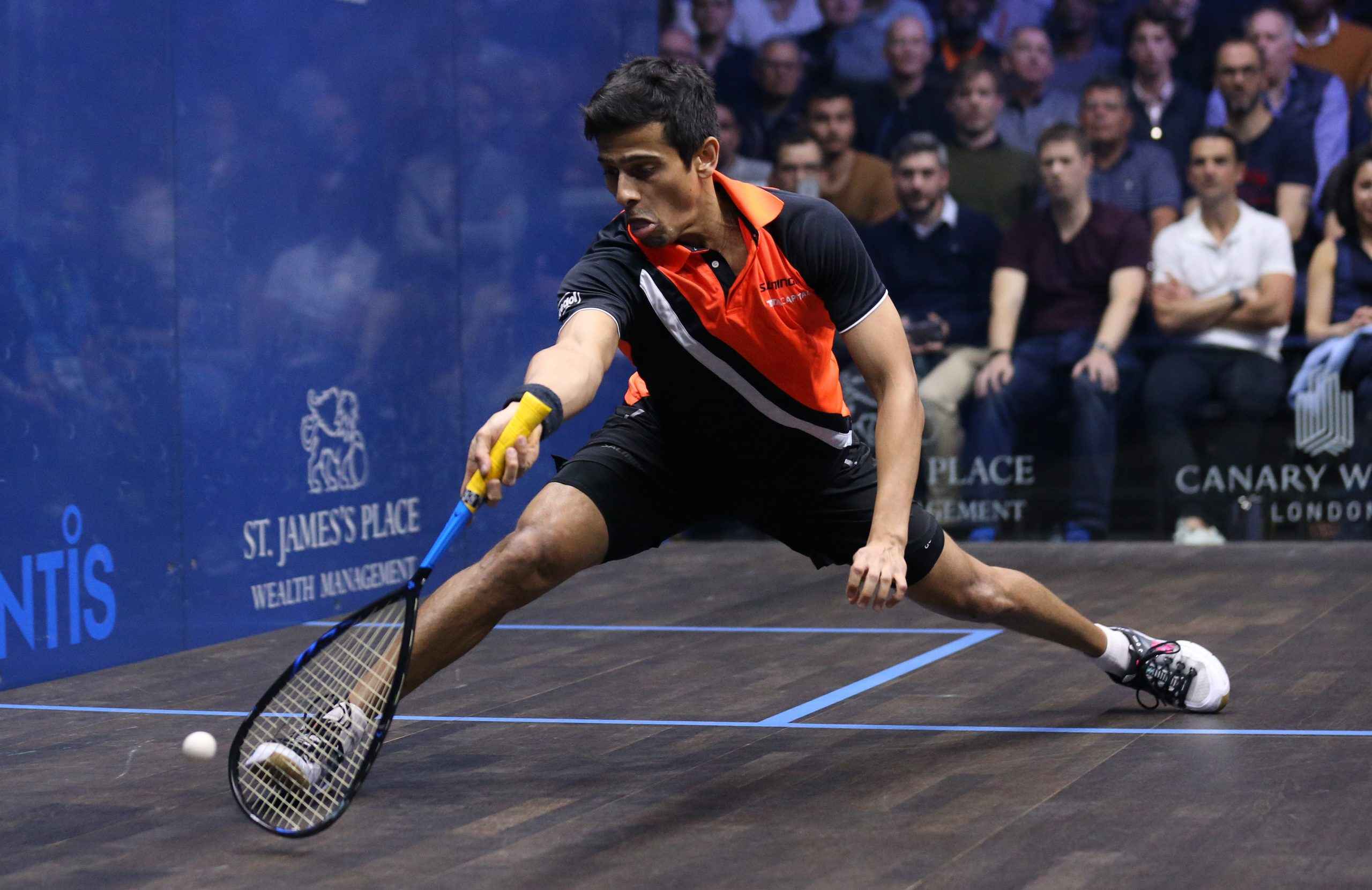Saurav Ghosal of India (Photo by Alex Pantling/Getty Images)