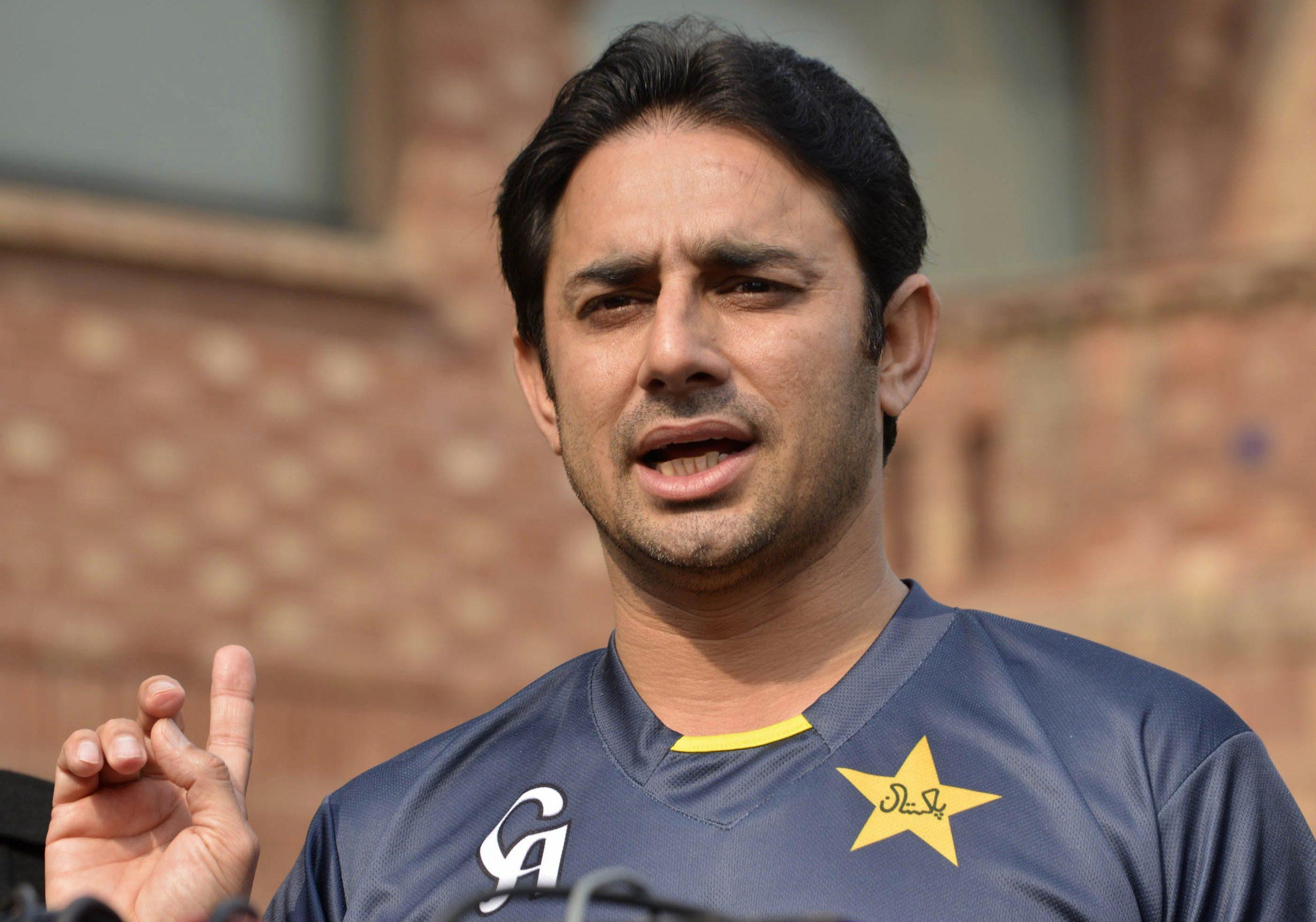 Pakistan spinner Saeed Ajmal (Arif Ali/AFP via Getty Images)