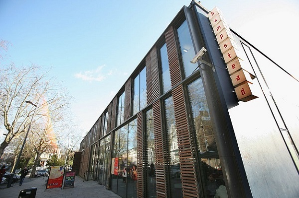 Hampstead Theatre (Photo: Daniel Berehulak/Getty Images).