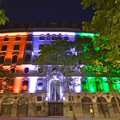 File photo of the Indian High Commission in London.