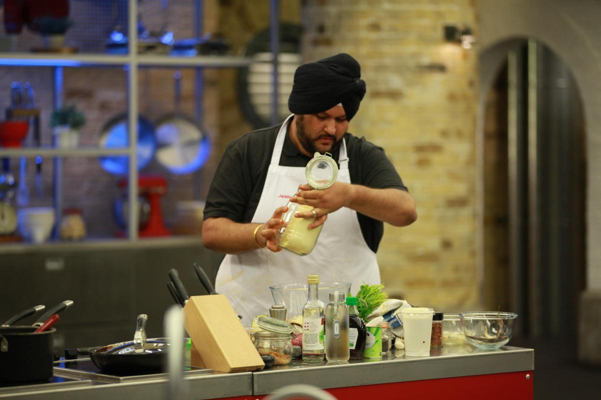 Jasmeet Dial, who impressed viewers with his Asian-inspired cuisine, was eliminated from the cooking show last week (Photo credit: BBC)