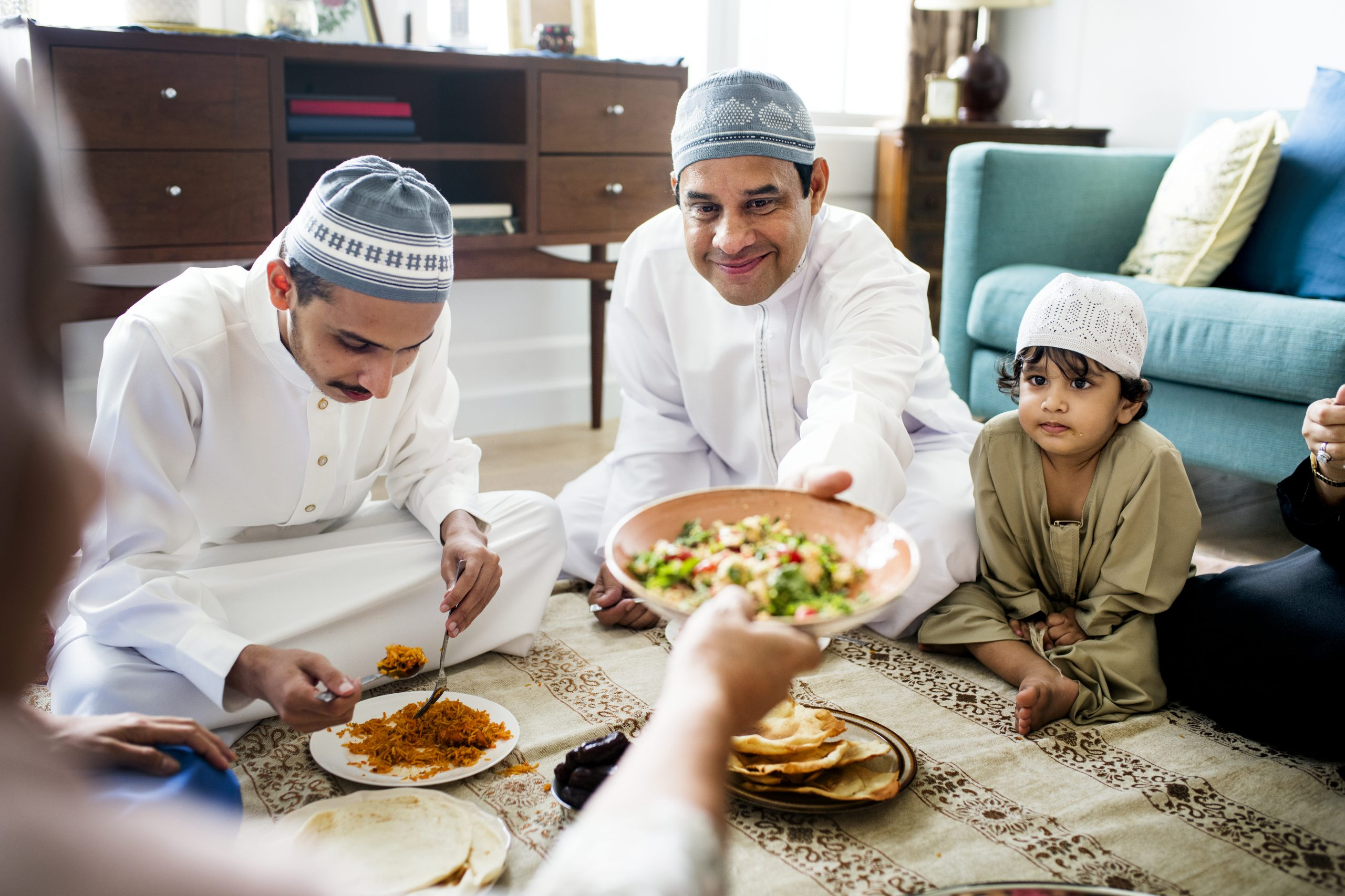 VIRTUAL REALITY: Getting together for iftar meals with family and friends (outside the household) is among the things banned under the lockdown measures