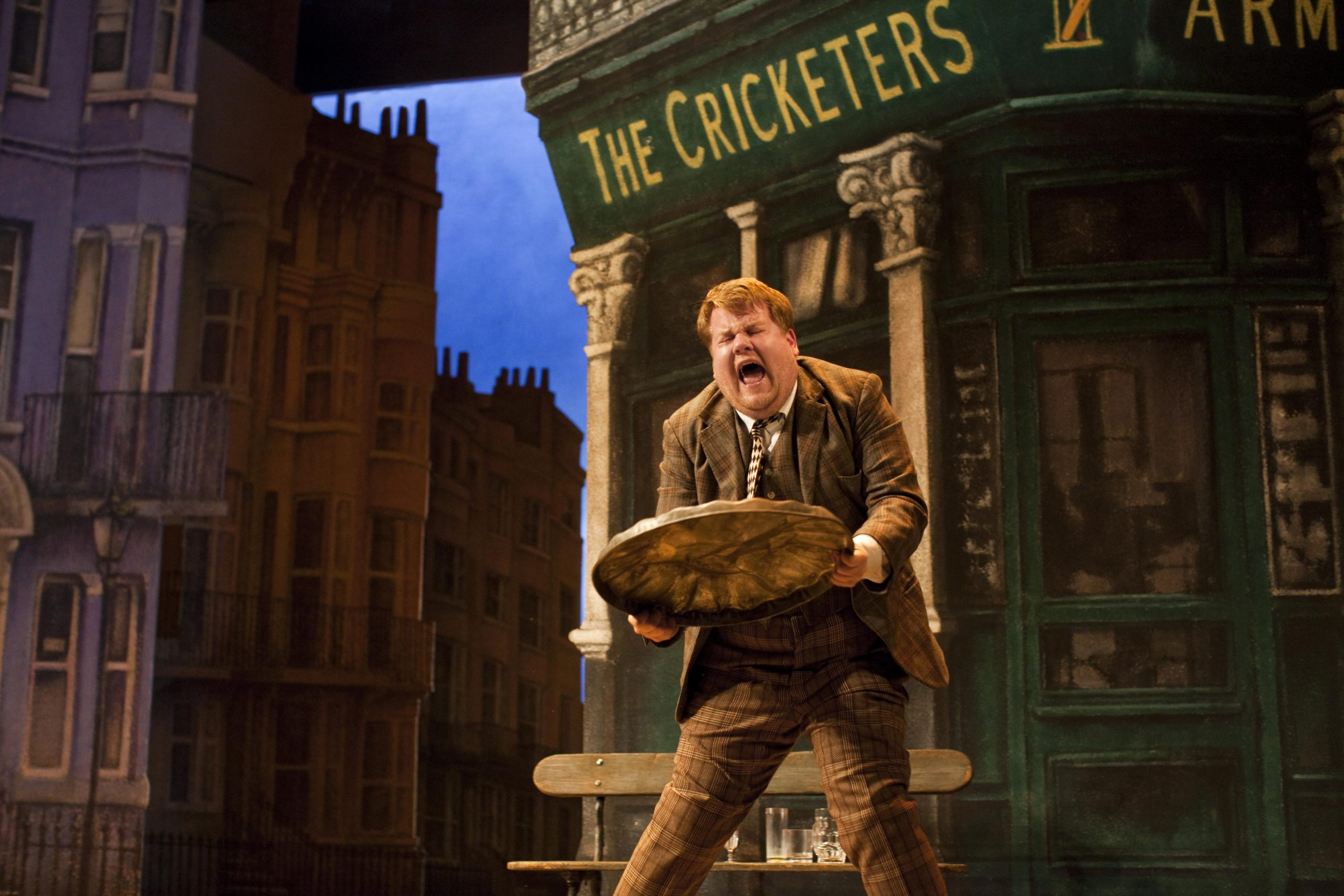James Corden as Francis Henshall in One Man, Two Guvnors (Photo: Johan Persson)
