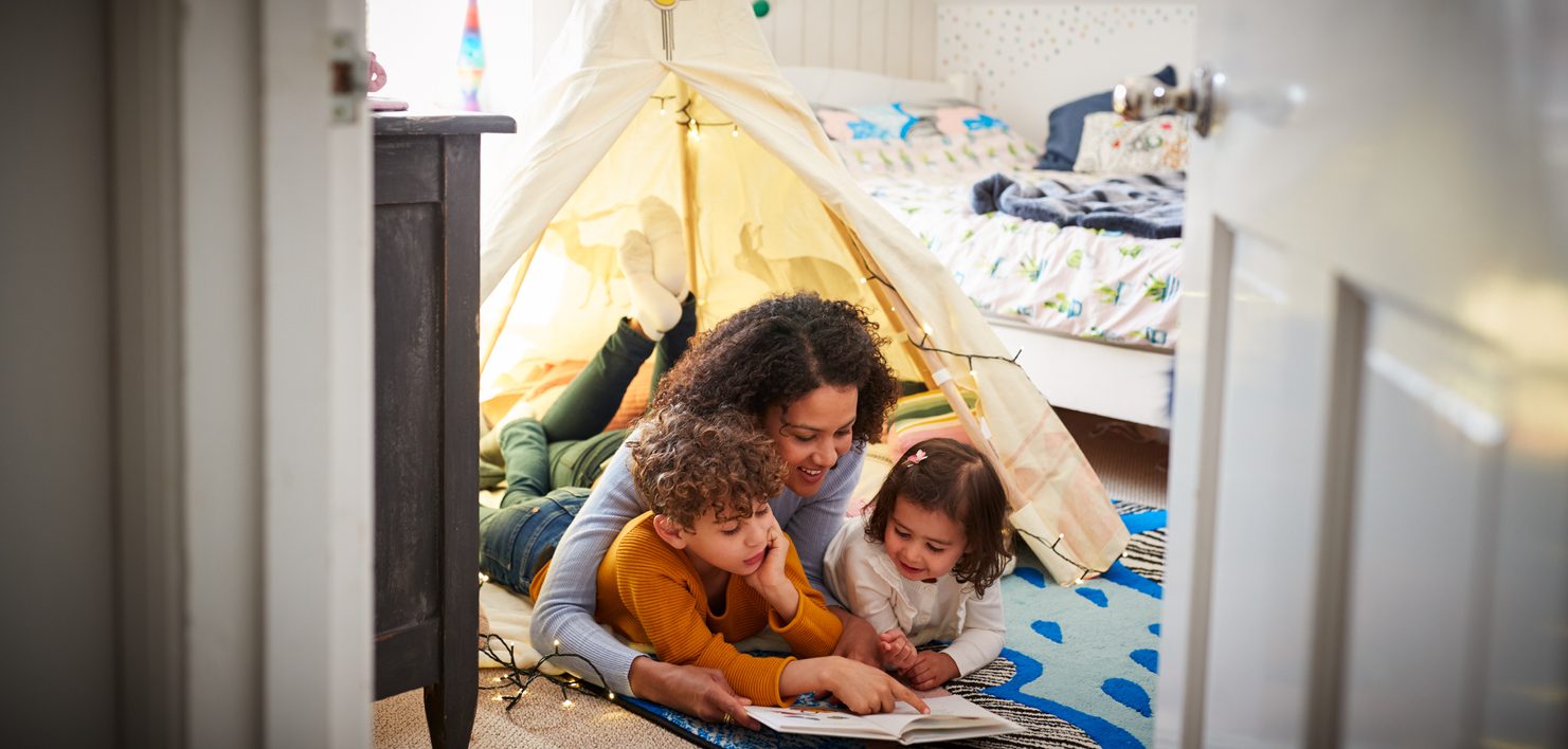 EFFECTIVE: Keep the young minds engaged with activities such as treasure hunt, board games or indoor camping