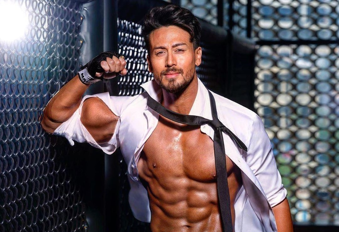 Tiger Shroff being the fitness inspiration Indian celebrities on TikTok