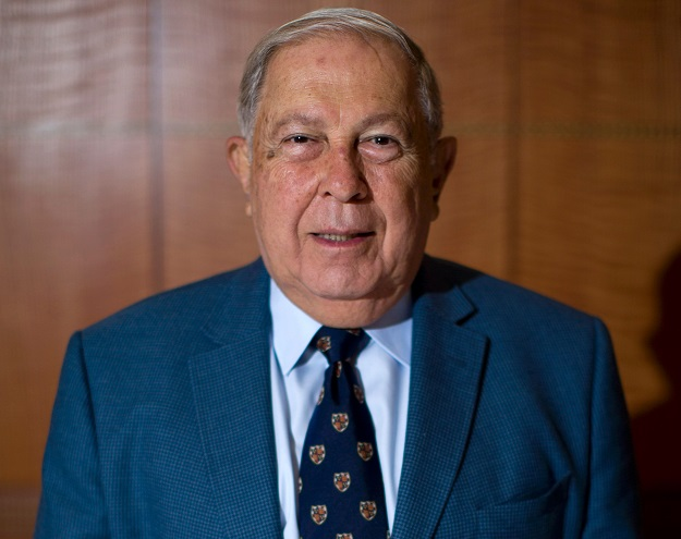 Chairman of Indian pharmaceutical firm Cipla, Yusuf Hamied (Photo: JUSTIN TALLIS/AFP via Getty Images).