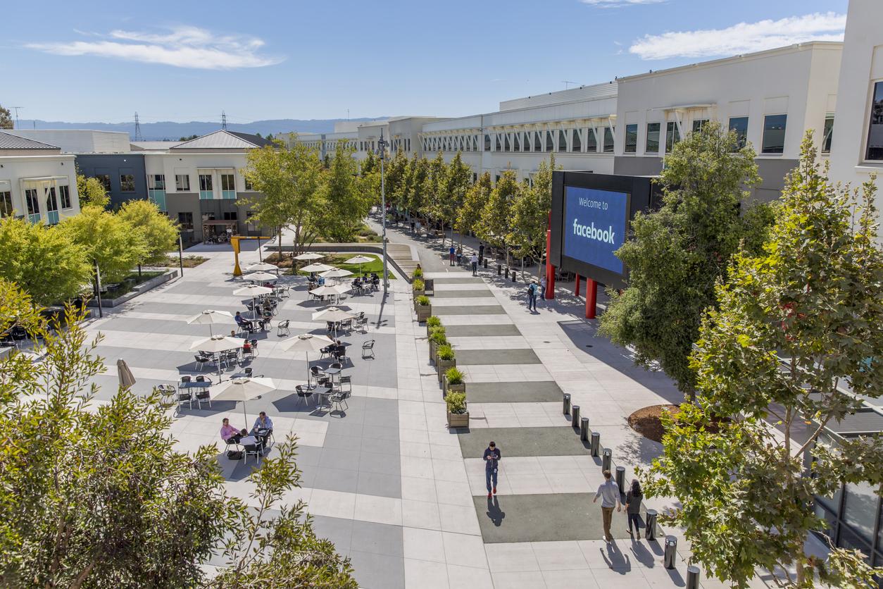 FILE PHOTO: Facebook headquarters in Menlo Park California (iStocks)